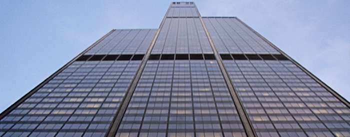 Sears Towers Solar reflective films project