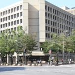 J. Edgar Hoover FBI Headquarters Fragment retention window films installation